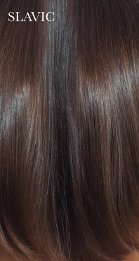 Young Slavic Russian Human Hair