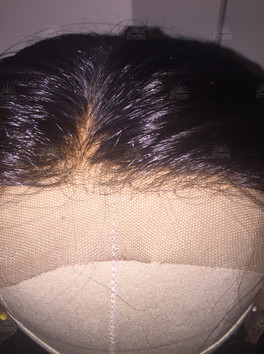 Silk Lace Front made with American Collected Premium Hair