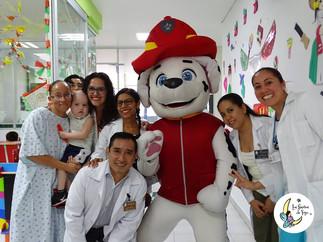Los Sueños de Yoyo y Paw Patrol  comparten sonrisas con decenas de niños con enfermedades de alto ri