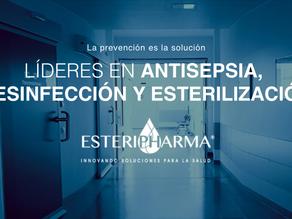 Esteripharma® reafirma su labor de sanitizar a MéxicO