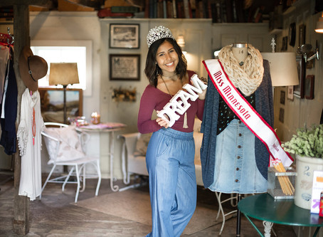 Miss MN Jr Teen Opens Threads for Teens Boutique