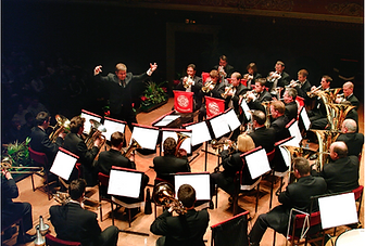 Mobile Location recording, specialists brass band, wind bands, choirs, soloists, classical ensembles