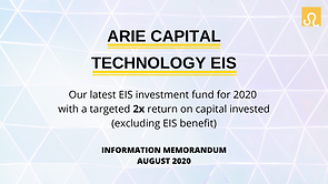 Front Page - ARIE CAPITAL TECHNOLOGY EIS