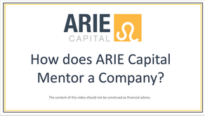 ARIE Capital and its Company Mentorship