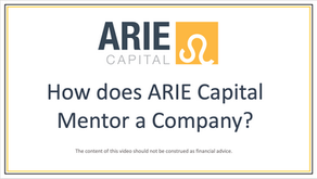 ARIE Capital and its Company Mentorship Strategy