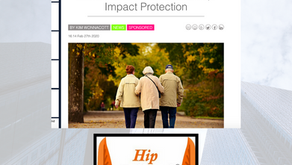 Hip Impact Protection in GBI Magazine