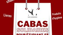 L'Association Sui Generis lance l'opération « Cabas Solidaires pour les étudiant-es ».