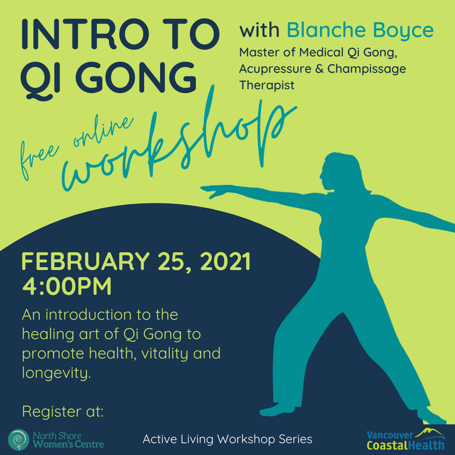 Free Workshop: Introduction to Qi Gong