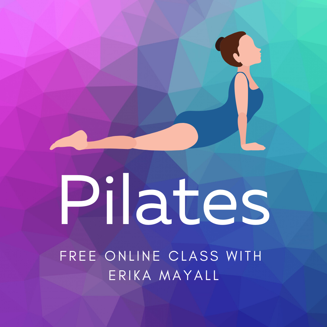 Online Pilates Class - click to access
