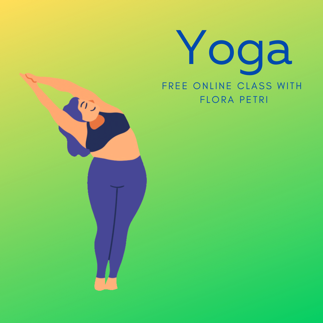 Online Yoga Class - click to access