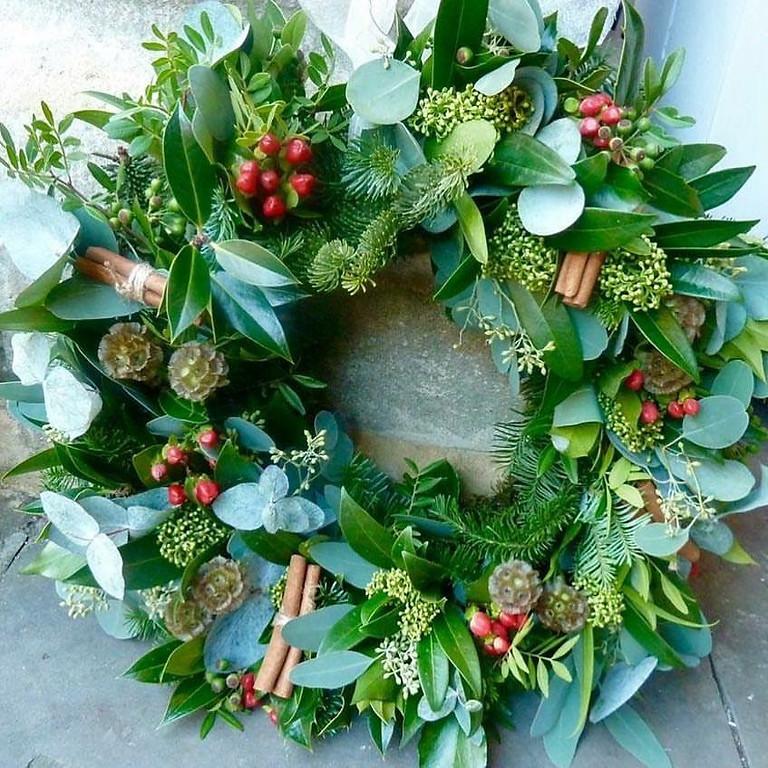 Christmas Wreath workshop 5 December