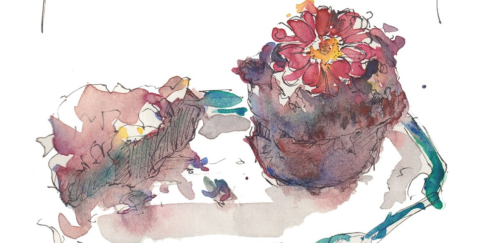 Tea, Cake and Watercolours course