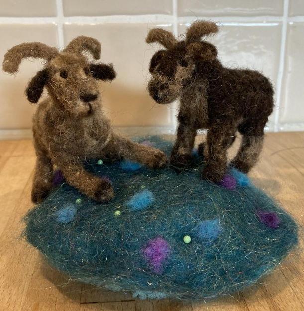 Lot 24: Sarah Kamm - Soay Sheep