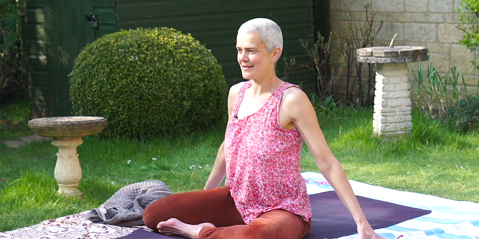 Calming Sunday Evening Yoga Flow with Bryony
