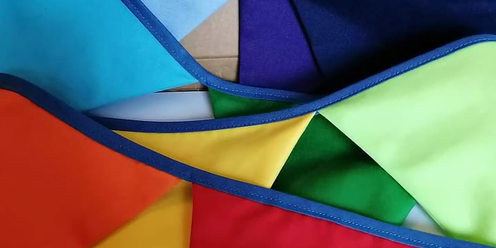 Rainbow Bunting get started zoom