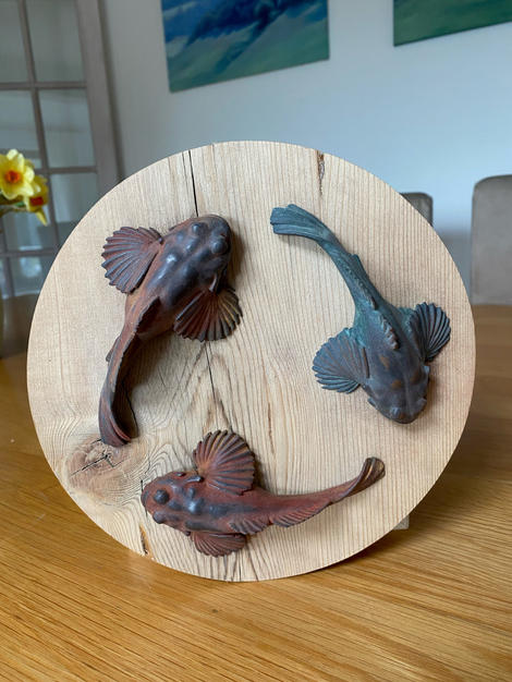 Lot 37: Matt Pilston - Three Fish