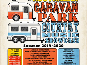 Caravan Park Tour Cancelled Dates