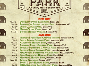 The Great Australian Caravan Park Country Music Showcase