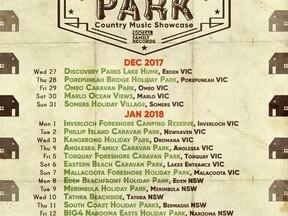 The Great Australian Caravan Park Country Music Showcase