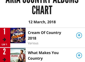 Call Out For The Cavalry Debuts at #3 on ARIA charts.