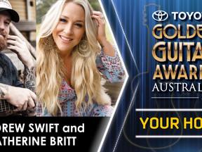 Andrew Swift & Catherine Britt to host 2021 Golden Guitar Awards