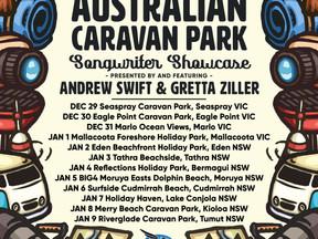 The Great Australian Caravan Park Songwriter Showcase 2021