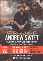 'The Art Of Letting Go' Album Launch Weekend!