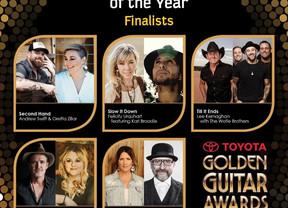 Second Hand Announced as Golden Guitar Finalist