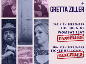 South Australia Shows Cancelled
