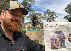 Swift Named Ambassador for the Dog on the Tuckerbox