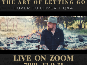 Zoom Live - 'The Art Of Letting Go' Cover to Cover + Q&A