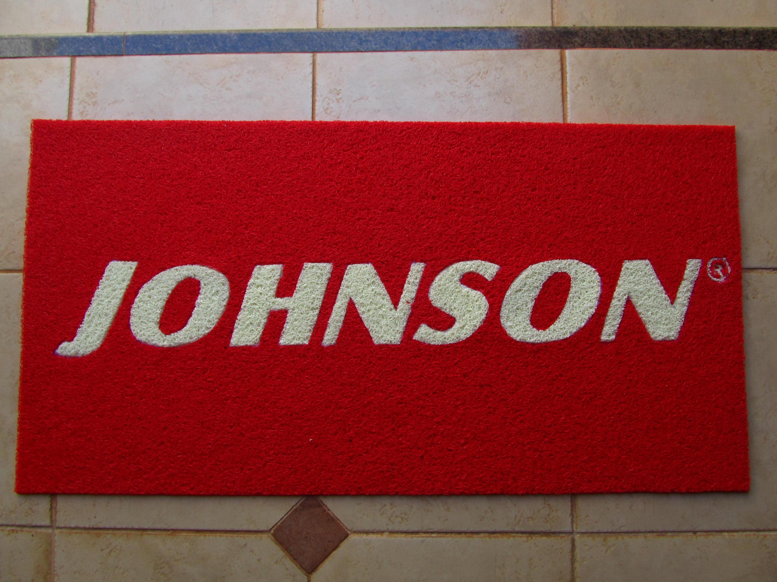 Capacho Personalizado Johnson