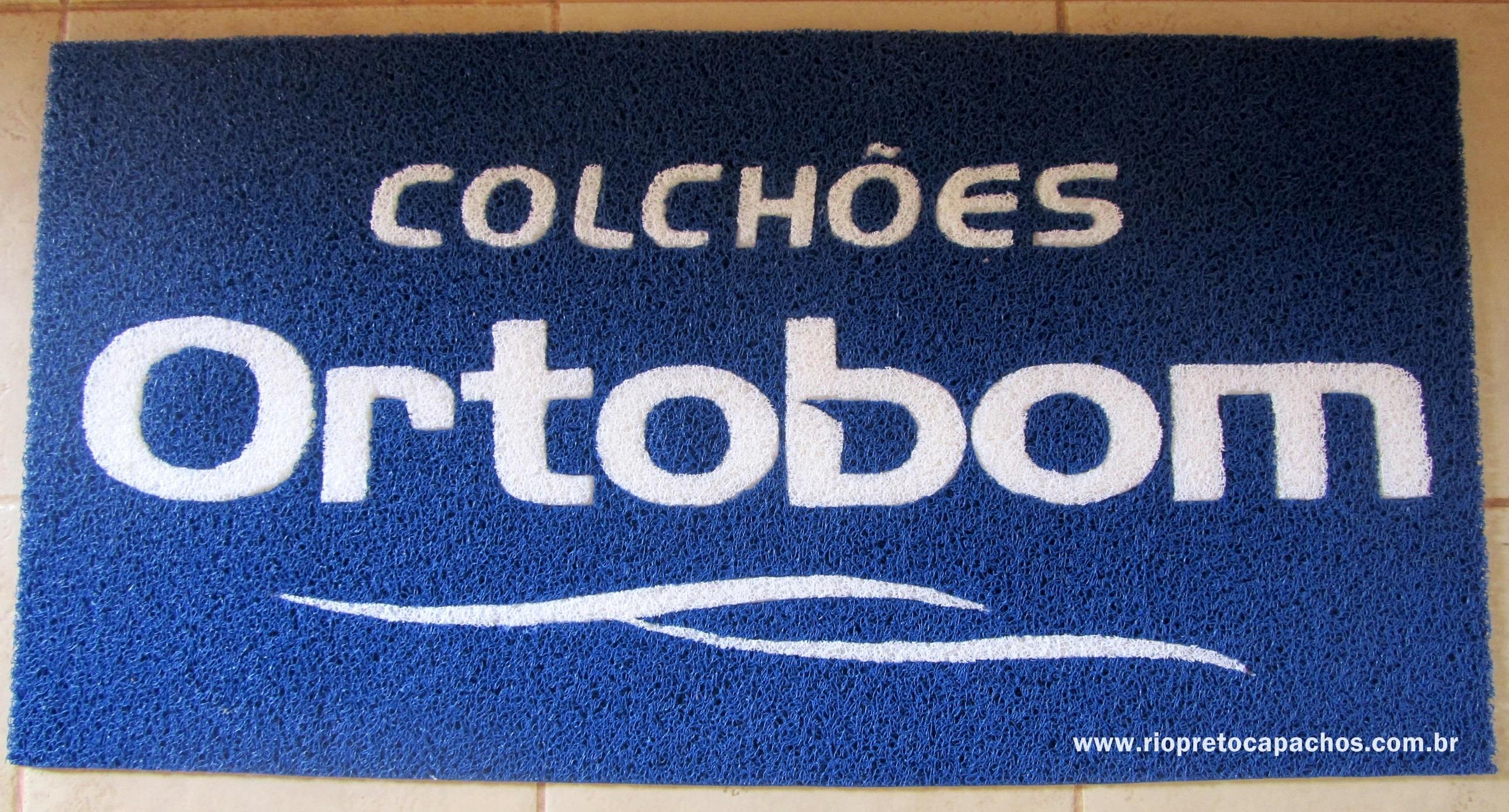 Colchões Ortobom.