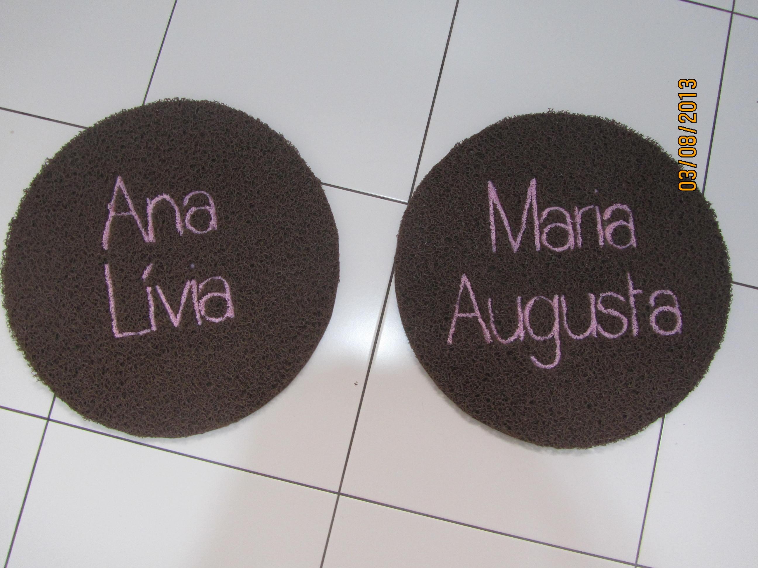 Ana Lívia e Maria Augusta