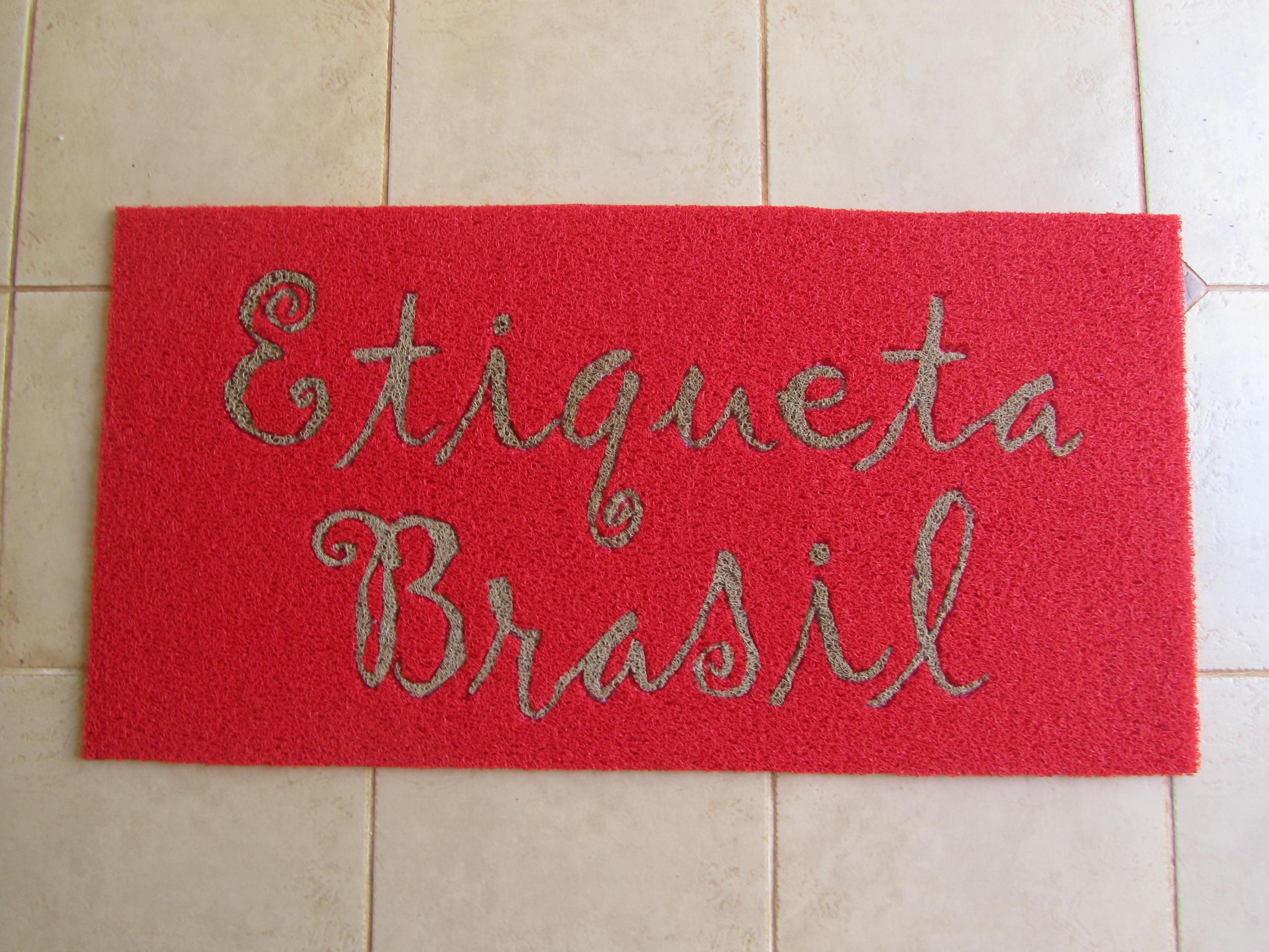 Etiqueta Brasil.