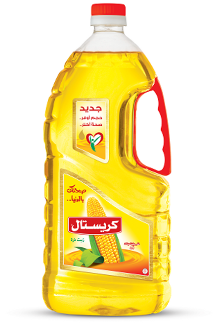Crystal Corn oil 2.4 L