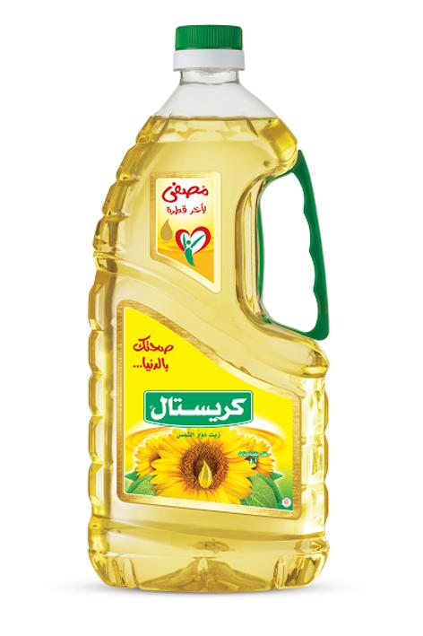 Crystal Sunflower oil 1.6 L