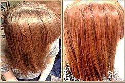 Natural strawberry blond hair ye