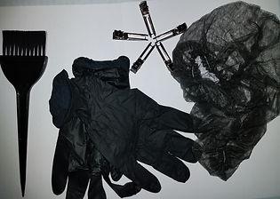 Hair dye appliction kit
