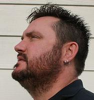 Natural dark brown hair and beard dye