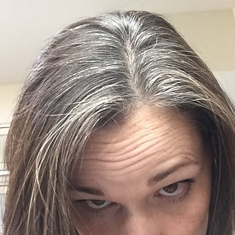 Before using natural dark brown hair dye