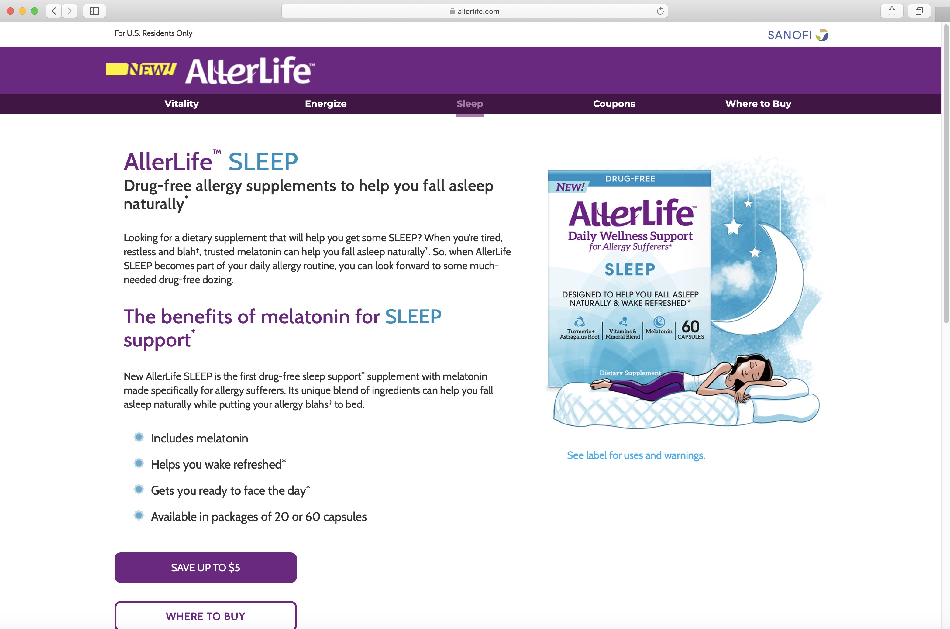 AllerLife Sleep