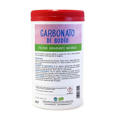 CARBONATO DI SODIO 500gr