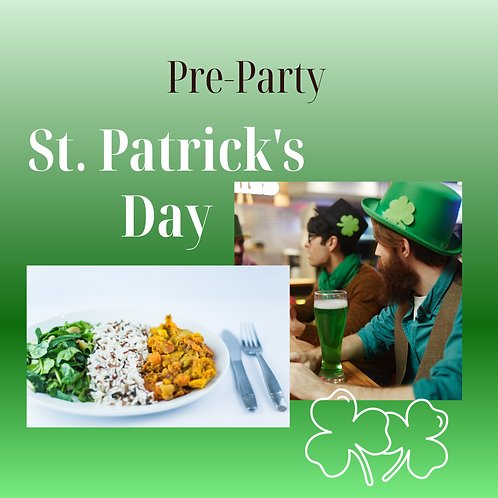 St. Patrick's Day Pre Party