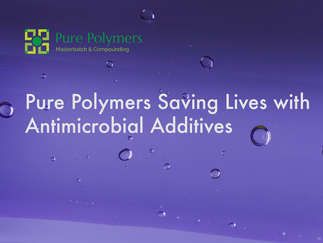 Pure Polymers Saving Lives with Antimicrobial Additives