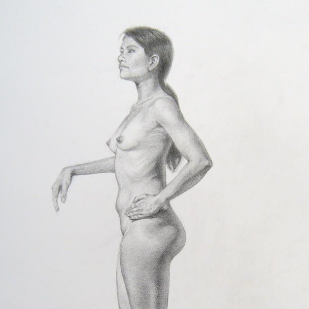 Estudio de figura femenina