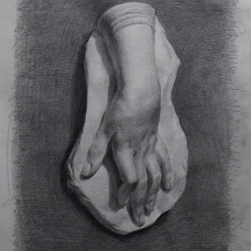 Hand Cast Drawing