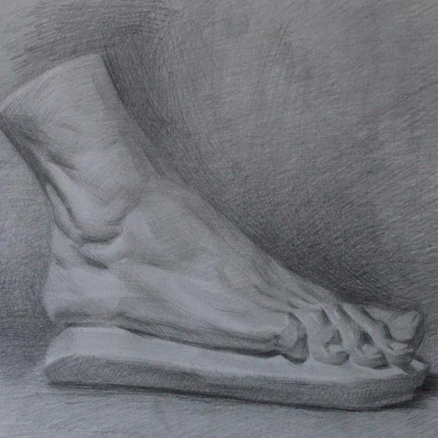 Escultura pie
