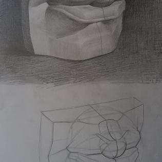 Estudio analítico escultura boca