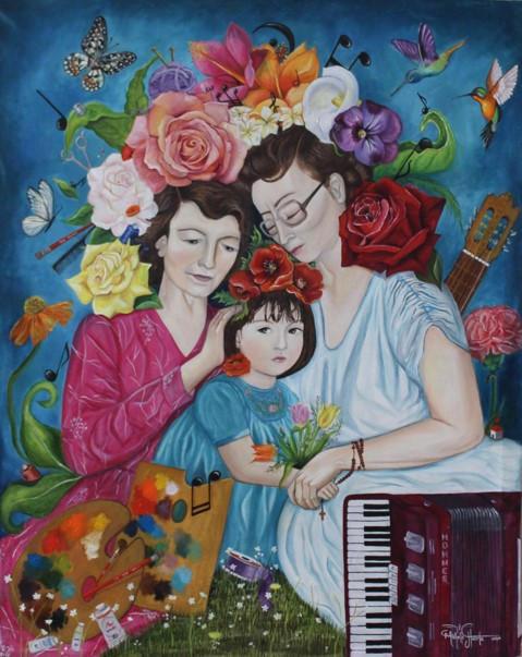Ellas... Color y Armonía en mi vida